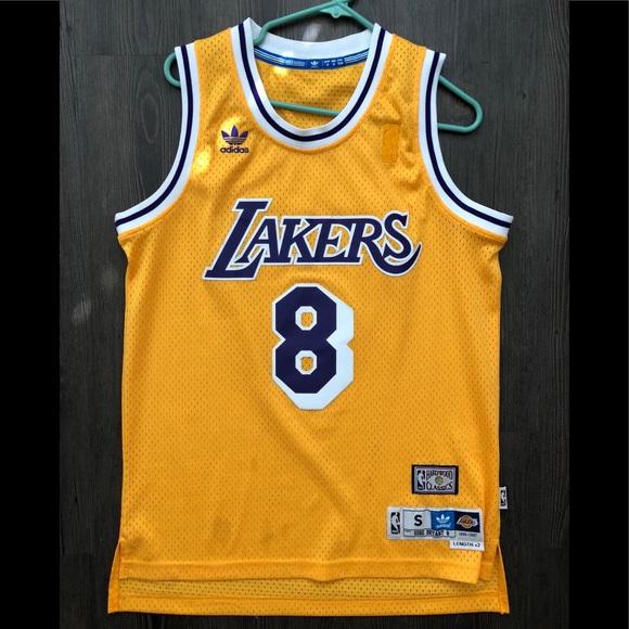 adidas Shirts   Great Condition Retro Lakers Kobe Jersey Men Small ...